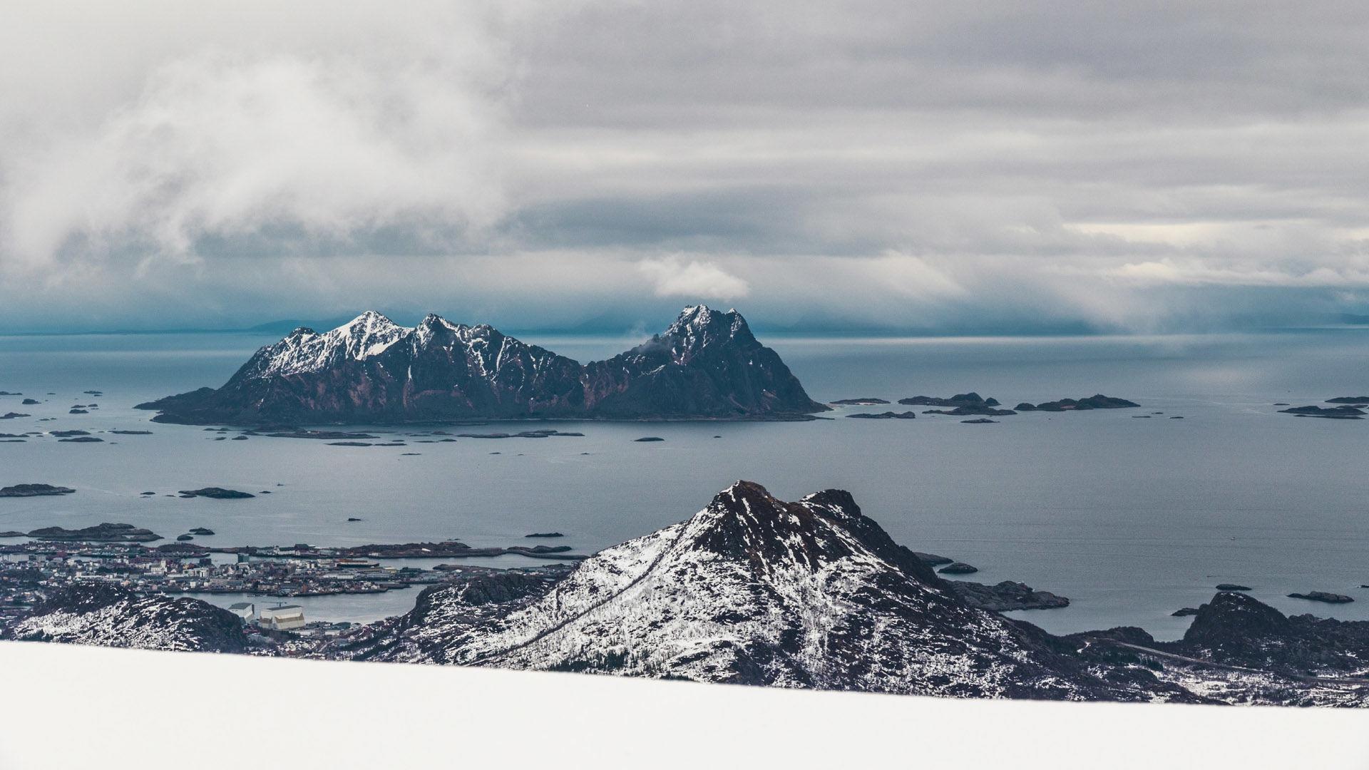 Skitouren Norwegen Svolvaer