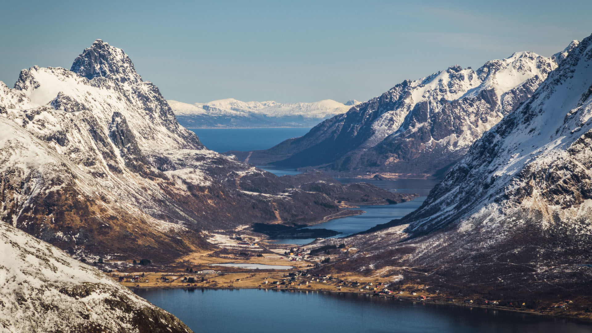 Skitourenreisen Norwegen Alpinewelten Lofoten Kabelvag