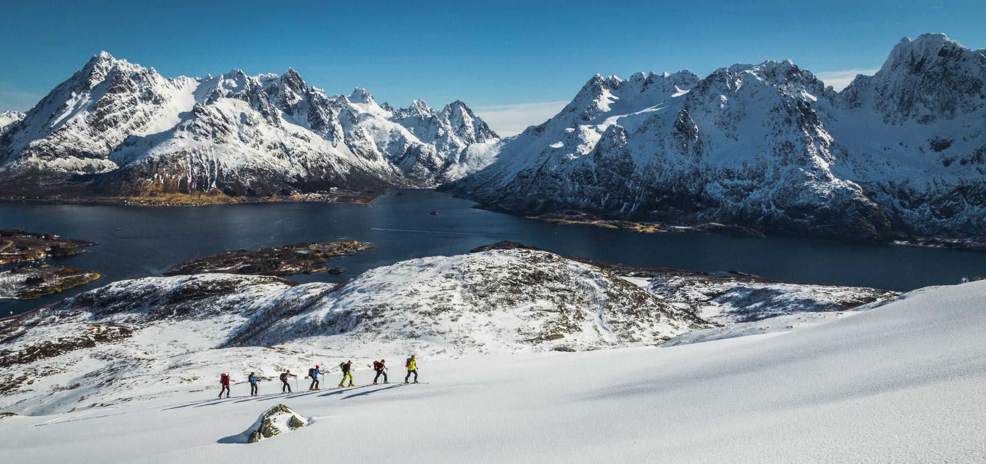 Skitourenreisen Norwegen Lofoten Organisierte Reise